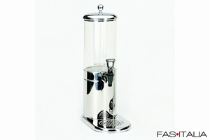 foto Breakfast Equipment: Stainless Steel Juice Dispenser 4 liters with ice holder