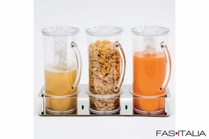 foto Breakfast Equipment: Juices or Cornflakes Stainless Steel Dispenser