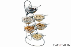 foto Breakfast Equipment: Chrome Exhibitor on 4 levels