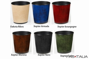foto Accessories for the Room: Paper bins in faux leather Polaris