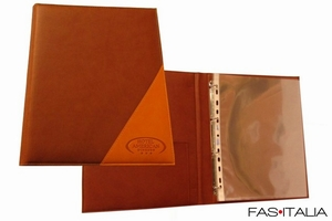 foto Accessories for the Room: Faux Leather Ring Folder
