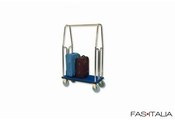 Luggage Trolley Brass